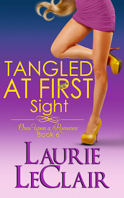Tangled At First Site (Once Upon A Romance) by Laurie LeClair