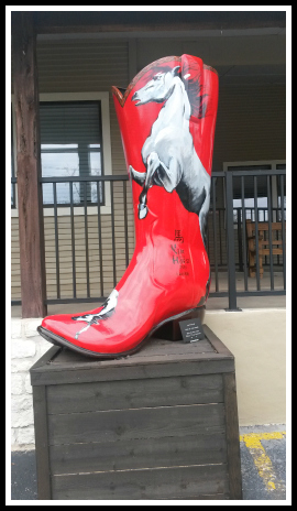 Red Horse Boot